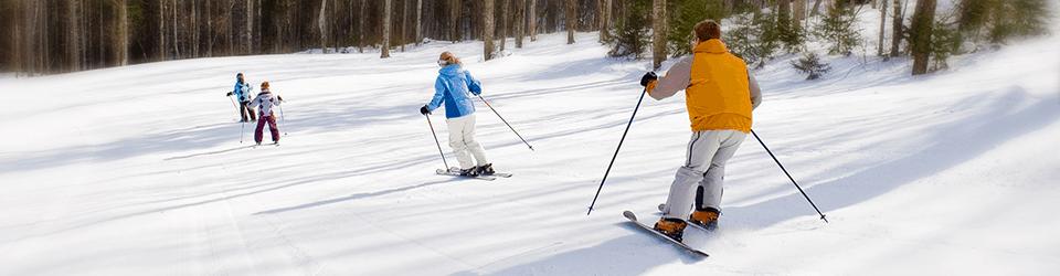 downhill skiing northern new hampshire