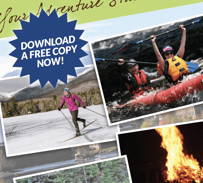 androscoggin valley nh adventure guide download brochure