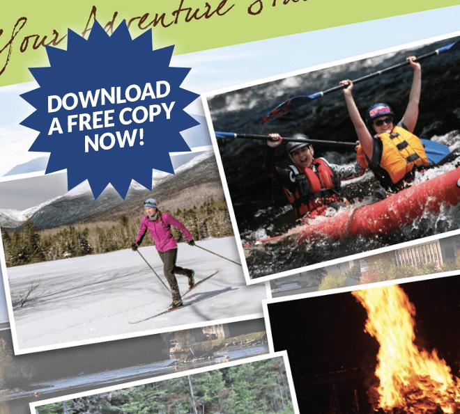 androscoggin valley nh adventure guide download brochure