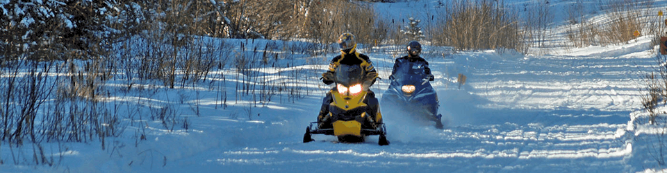 snowmobiling in northern new hampshire