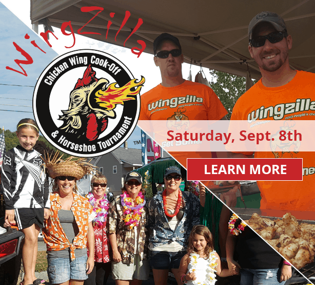 WingZilla and the Luau ATV Poker Run take place on Saturday, September 8th in Berlin, NH.