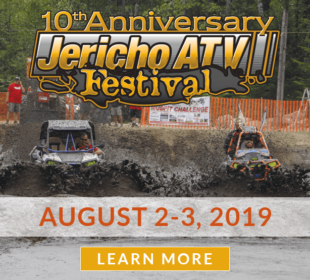 The Jericho ATV Festival is from August 2-3 this year. Learn more