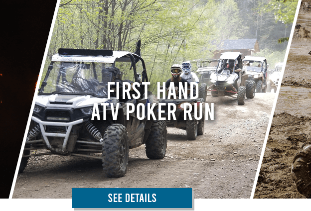 The First Hand ATV Poker Run