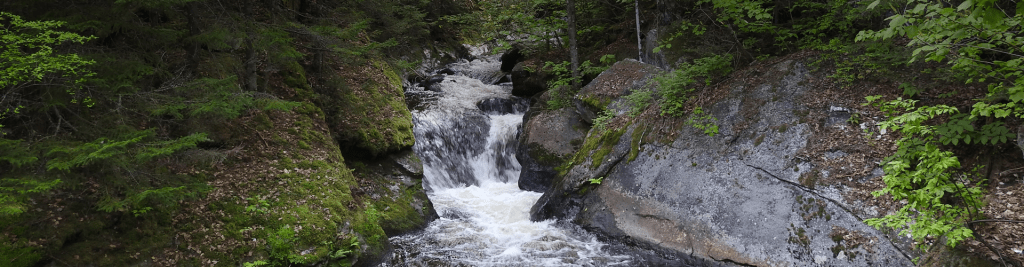 Waterfall in Northern NH's Androscoggin Valley
