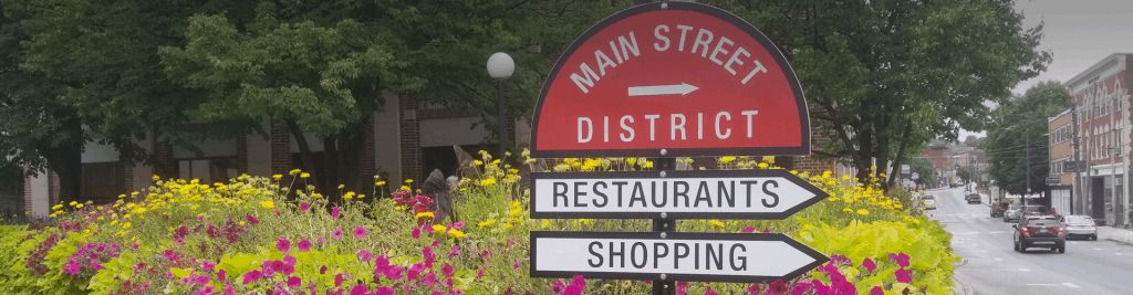 Shopping on Main Street in Berlin, NH